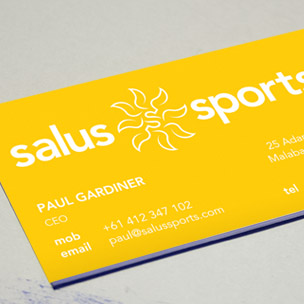 Salus Sports brand naming